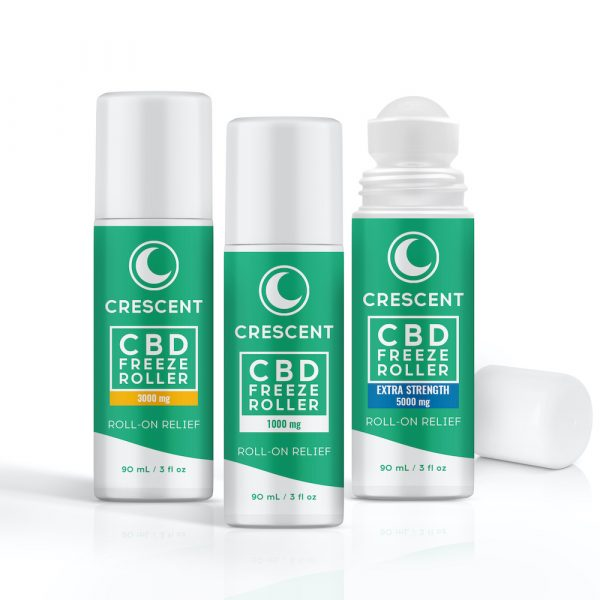 CBD Freeze Roll-ons Extra Strength