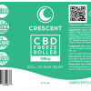 CBD Pain Freeze Roller Label