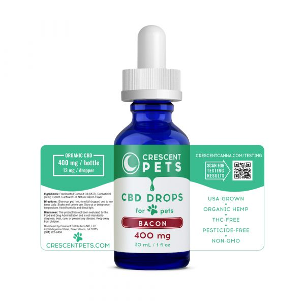 BACON CBD Oil for Pets 400mg