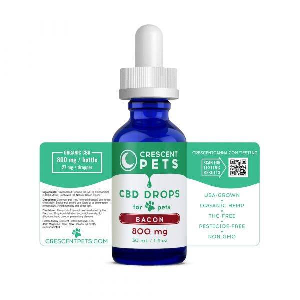 BACON CBD Oil for Pets 800mg