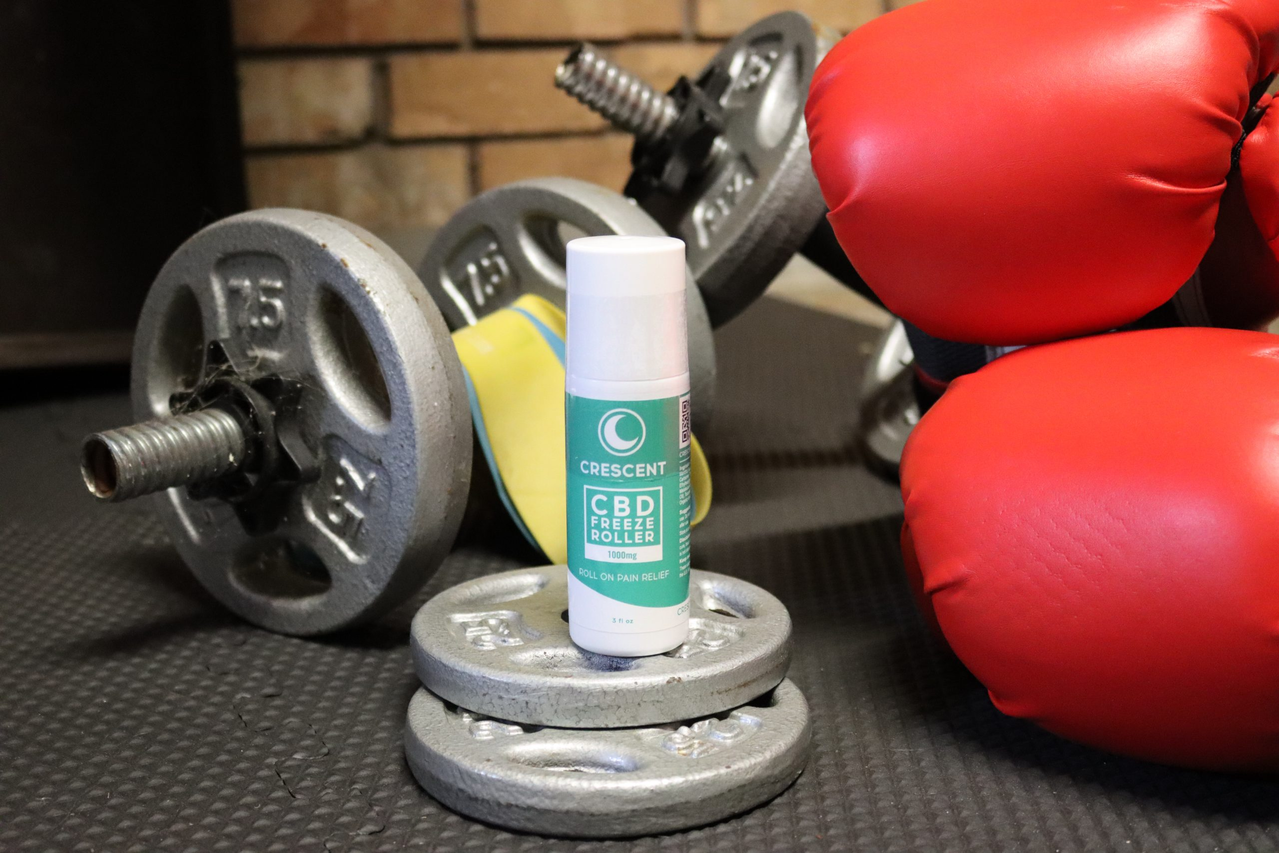 CBD Freeze-Roll on at the Gym