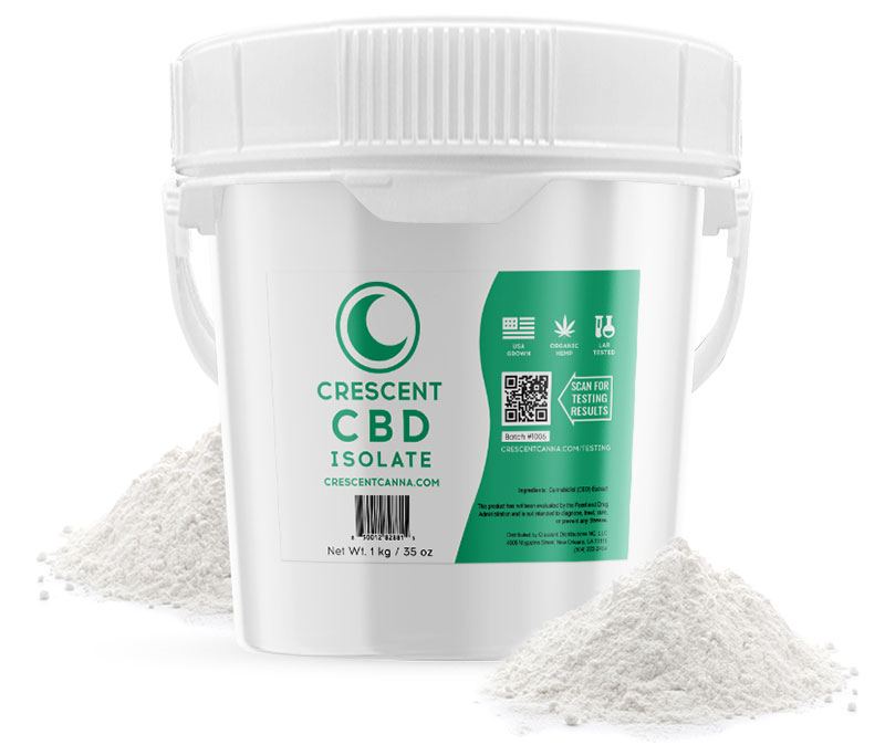 Buy Crescent Canna CBD Isolate Wholesale