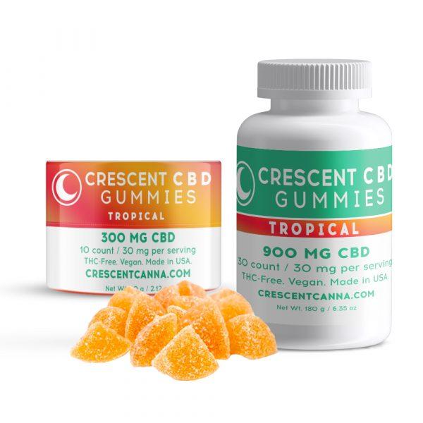 Crescent Canna Vegan CBD Gummies